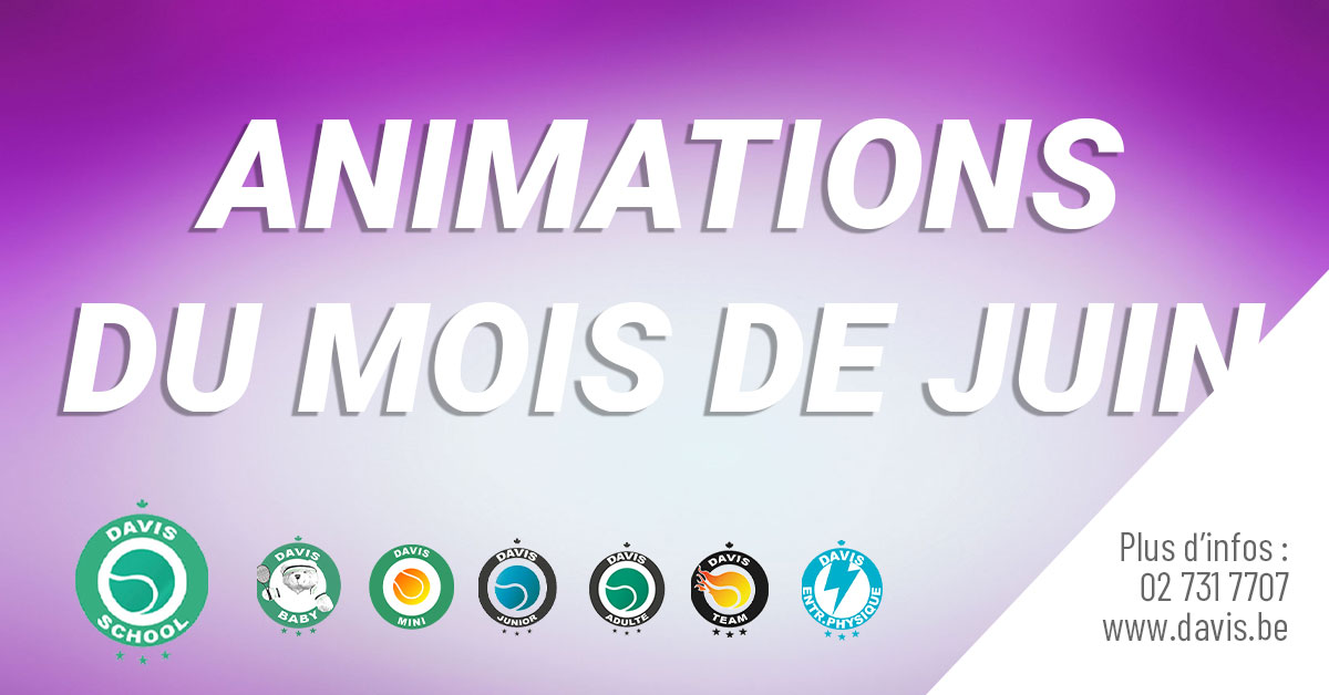 Animations Juin 2019