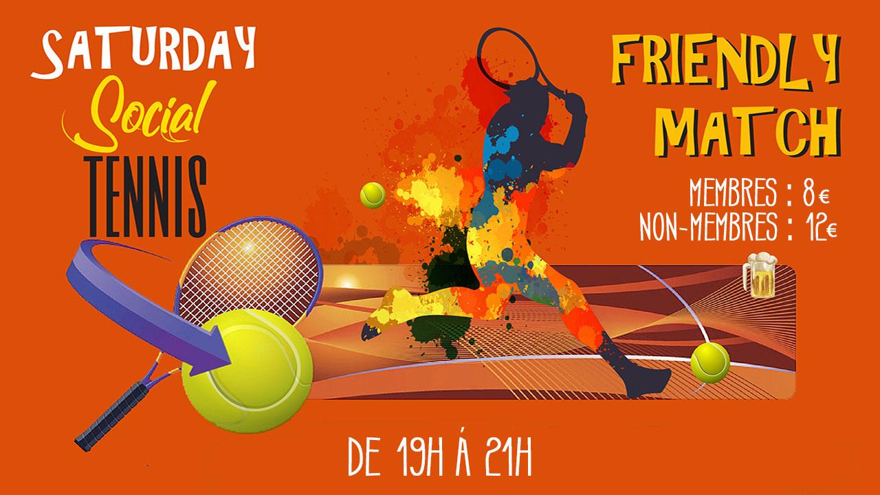 Social tennis: Annulé !!!