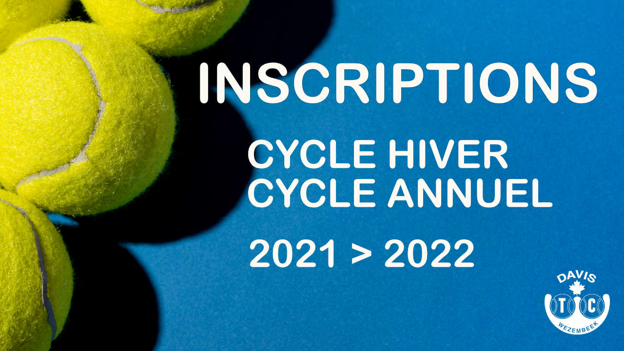 Cycle hiver/annuel 2021 > 2022