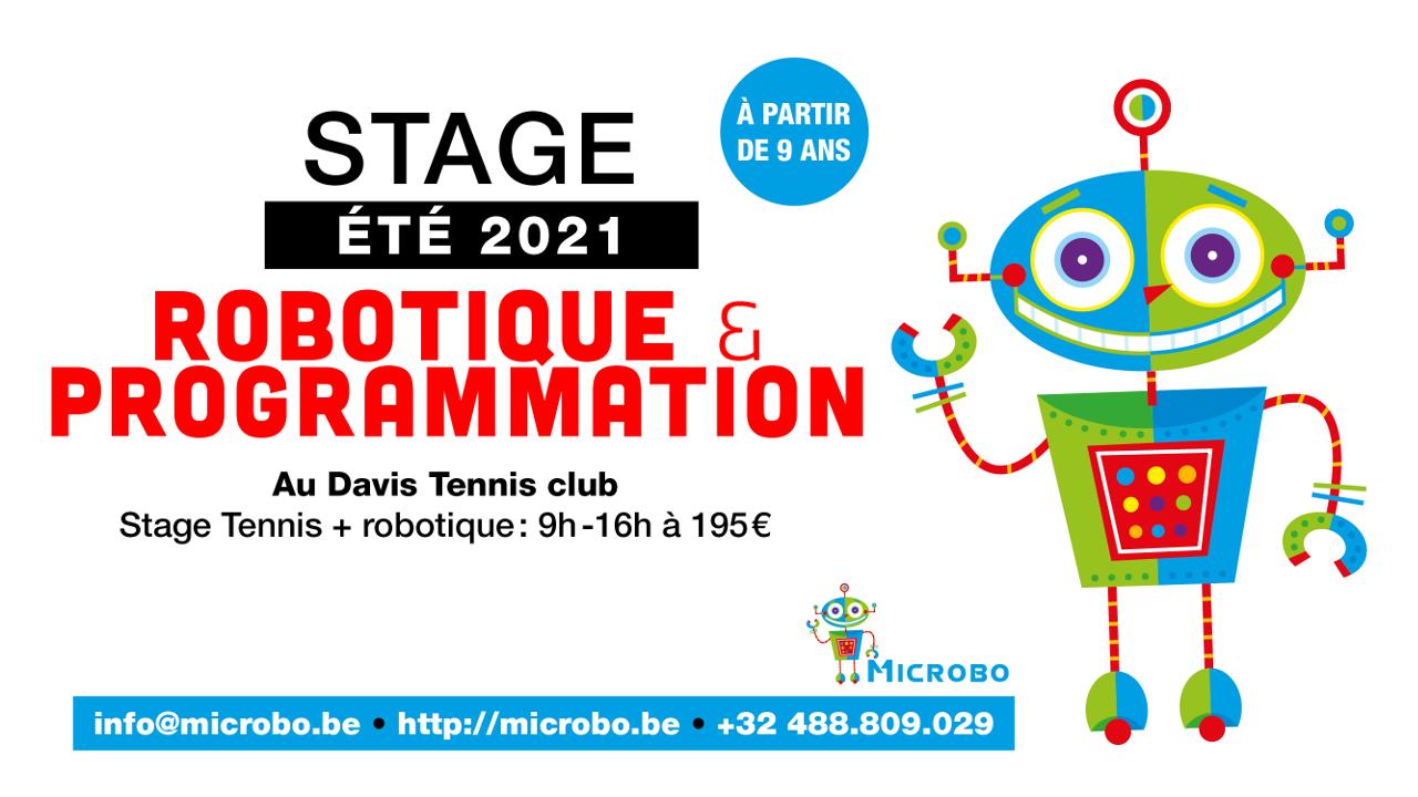 New: Stages robotique